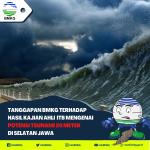 Tsunami setinggi 20 meter di selatan Pulau Jawa diprediksi akan terjadi (bmkg)