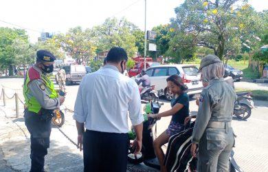 Warga Kota Bogor terjaring operasi yustisi masker (adi)