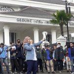 BEM Jabar gelar demo di Bandung (dtc)