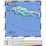 Gempa guncang Pangandaran Minggu pagi (ist)