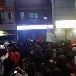 Demo mahasiswa Bogor berlangsung hingga malam hari (adi)