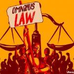 Ilustrasi RUU Omnibus Law