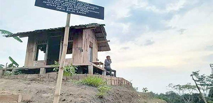 Suasana objek wisata di Bukit Cigedud, Kelurahan Cikundul, Kecamatan Lembursitu
