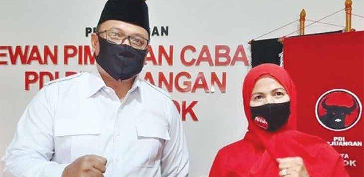 Paslon Walikota dan Wakil Walikota Nomor Urut 1, Pradi Supriatna-Afifah Alia