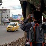 Gapura ambruk di Cirebon