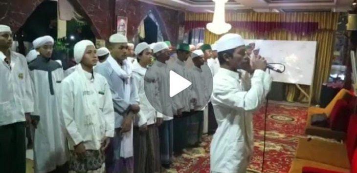 Tangkapan layar video Hayya 'alal Jihad.