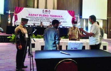 Rapat Pleno Terbuka KPU Karawang
