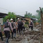 Kondisi banjir bandang di kawasan Gunung Mas, Bogor