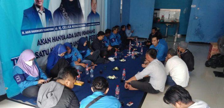 Rapat pengurus DPC FKKGD Kabupaten Karawang, Selasa (5/1/2021).