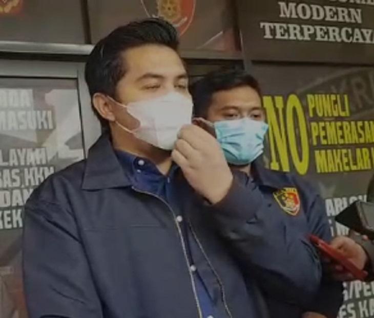 Kasat Reskrim Polres Karawang, AKP Oliestha Ageng Wicaksana