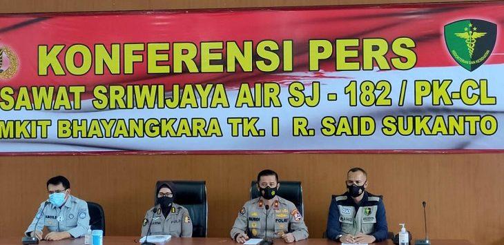 Konpres Sriwijaya Air SJ-182 di RS Polri, Kramat Jati, Jaktim,./Foto: Mufit