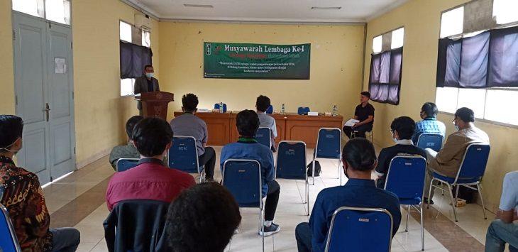 LKMI Cabang Karawang gelar  Musyawarah Lembaga di Komplek Islamic Centre Karawang, Kamis (21/1/2021)./Foto: Istimewa