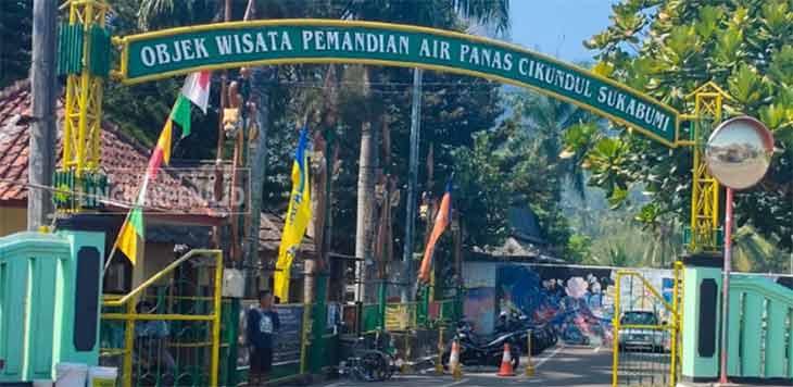 Objek wisata Pemandian Air Panas (PAP) Cikundul, Kelurahan Cikundul, Kecamatan Lembursitu, Kota Sukabumi. Ist