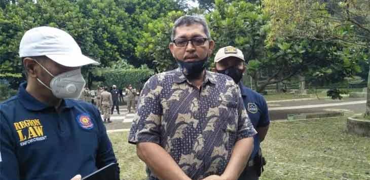 Plh Kepala Satpol PP dan Damkar Kota Cimahi, Ipung Mustofa. Istimewa