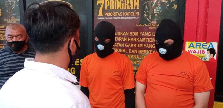 Satreskirm Polrestabes Bandung kembali mengungkap kasus prostitusi dengan modus menawarkan jasa spa di salah satu hotel di Ciumbuleuit, Kota Bandung. Foto/Arif