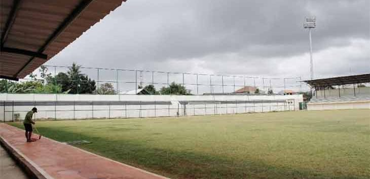 Ini tampilan baru tribun utama Stadion Merpati Depok. Ist