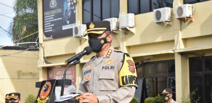 Kapolresta Cirebon, Kombes Pol M. Syahduddi. Dede