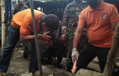 Temuan granat nanas di Kelurahan Maleer