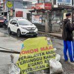 Usai Viral, Kerusakan di Jalan Caman Langsung Diperbaiki