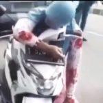 Warga Karawang meninggal dunia di atas motor