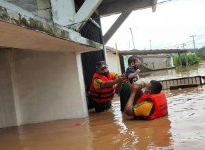Banjir di Karawang