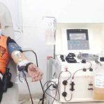 Donor-plasma-konvaselen