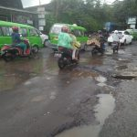 Jalan Rusak di Bogor