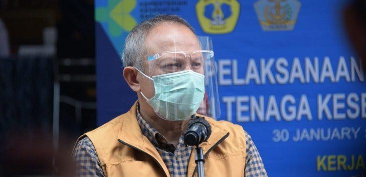 Ketua Komite Kebijakan Penanganan COVID-19 dan Pemulihan Ekonomi Daerah Provinsi Jawa Barat (Jabar) Setiawan Wangsaatmaja./Foto: Arief