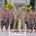 Lesti jadi bridesmaid saat pernikahan Ali Syakieb-Margin Wieheerm