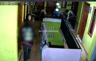 Pemukul wanita di bandung