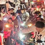 Kemacetan di Perempatan Senopati