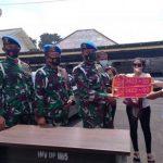 Perempuan pamer mobil plat TNI palsu