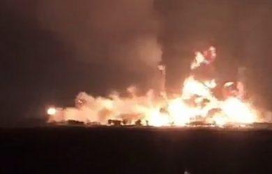 Pertamina Balongan, Indramayu, Terbakar