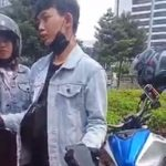 Video viral pengendara motor