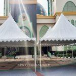 Jemaah Masjid Al Barkah Batasi Jumlah Jemaah