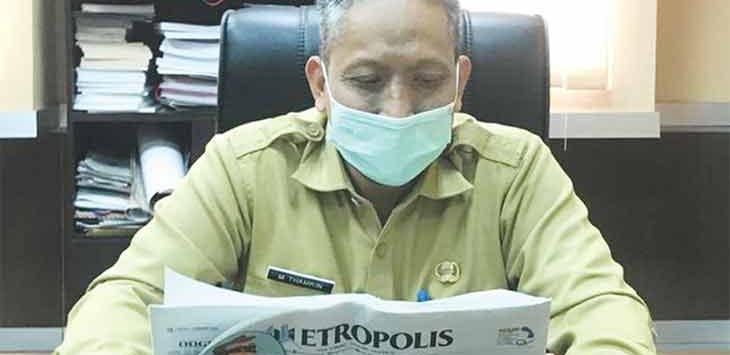 Kepala Disdik Kota Depok, M Thamrin