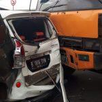 Tabrakan Beruntun di Flyover Cipendawa, 5 Kendaraan Terlibat 02