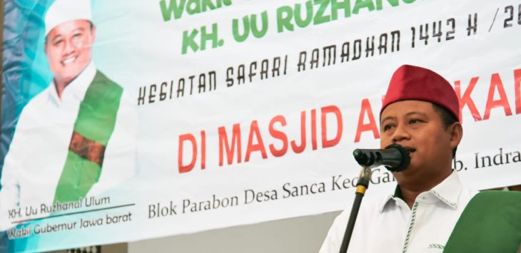 Wagub Jabar, Uu Ruzhanul Ulum./Foto: Istimewa