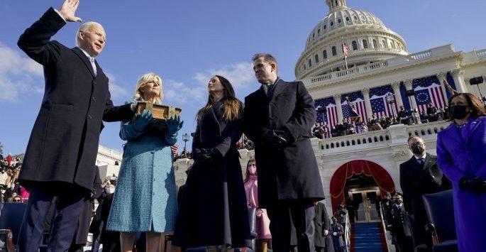 Inaugurasi Joe Biden, Presiden Amerika Serikat. ist