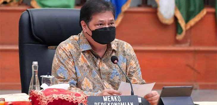 Ketua Komite Pemulihan Covid-19 dan Pemulihan Ekonomi Nasional (KPCPEN), Airlangga Hartarto