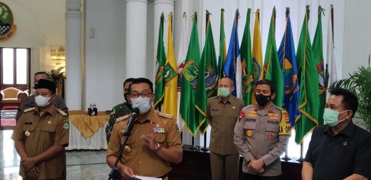 Gubernur Jabar, Ridwan Kamil. Foto/Arif