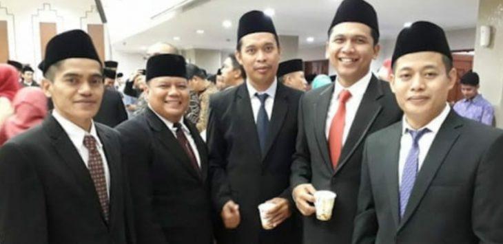 Para Komisioner KPU Purwakarta Priode tahun 2018 -2023.