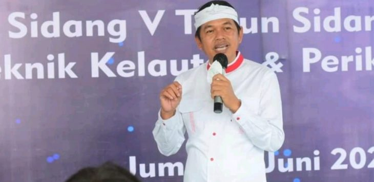 Kader Golkar Terbaik Jawa Barat, Dedi Mulyadi, yang saat ini menjabat Wakil Ketua Komisi IV DPR RI.
