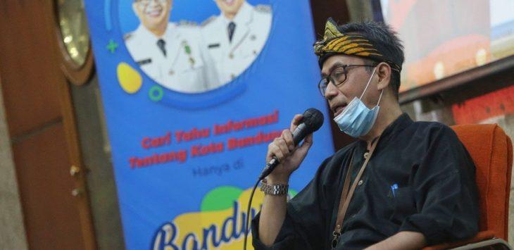 Sekretaris Distaru Kota Bandung, Ahmad Tadjudin./Foto: Arief