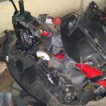 kecelakaan beruntun di jalan pasar kranggan (2)