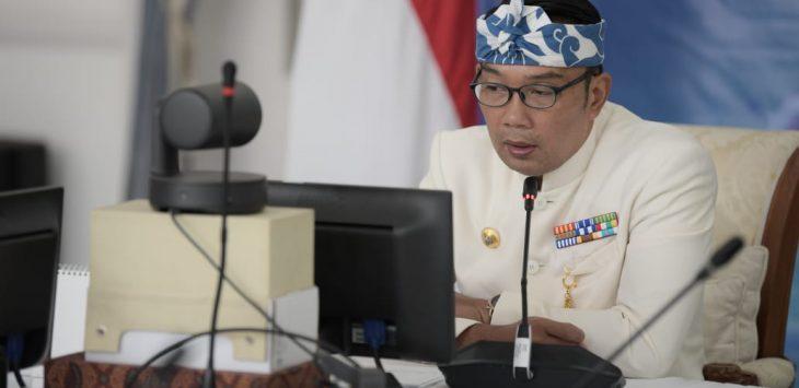 Gubernur Jabar, Ridwan Kamil.