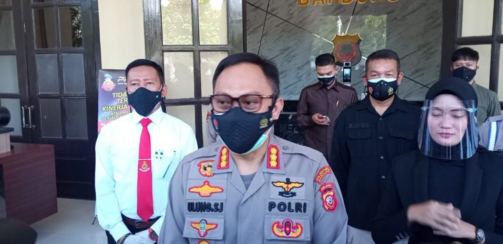Kapolrestabes Bandung, Kombes Ulung Sampurna Jaya./Foto: Arief