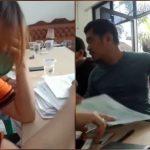 Petugas BST di Arenjaya Tak Kuasa Tahan Tangis Usai Dibentak Warga