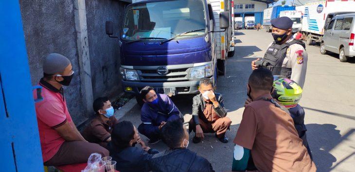 Polda Jabar Giat patroli Harkamtibmas dan sosialisasi kebijakan pemerintah tentang penggunaan masker saat aktifitas, prokes, serta pemberlakuan PPKM Darurat, Rabu (21/7/2021)./Foto: Istimewa