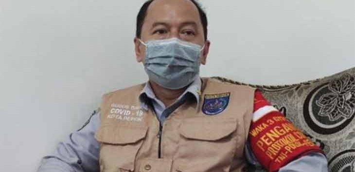 Juru Bicara Satgas Penanganan Covid-19 Kota Depok, Dadang Wihana.